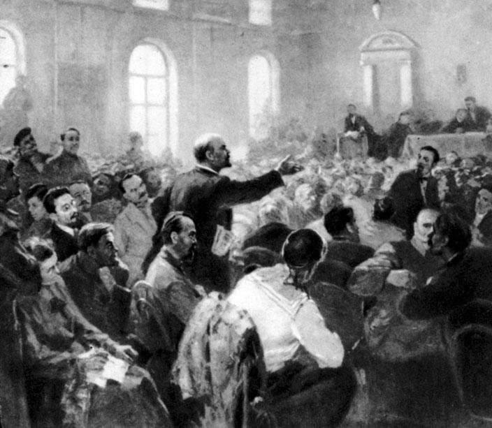 А. Кулаков. Первый Всероссийский съезд Советов. 1917