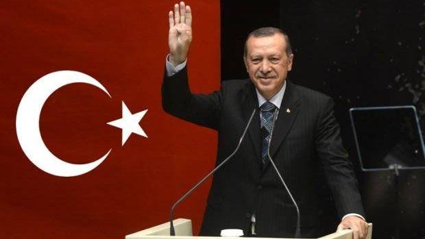 Президент Турции Рэджеп Тейип Эрдоган