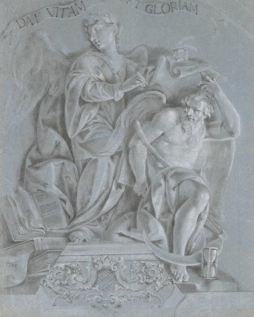Витторио Мария Бигари. Аллегория истории со временем. 1761