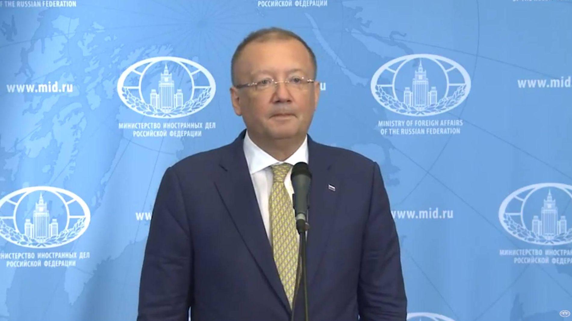 Посол РФ в Лондоне Александр Яковенко