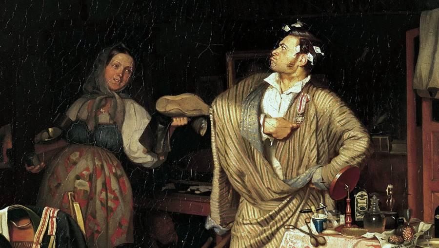 Свежий кавалер(фрагмент)
