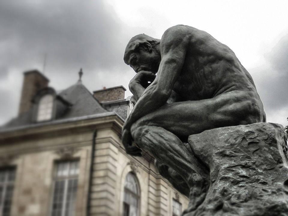 А. Роден. Мыслитель. 1880-1882