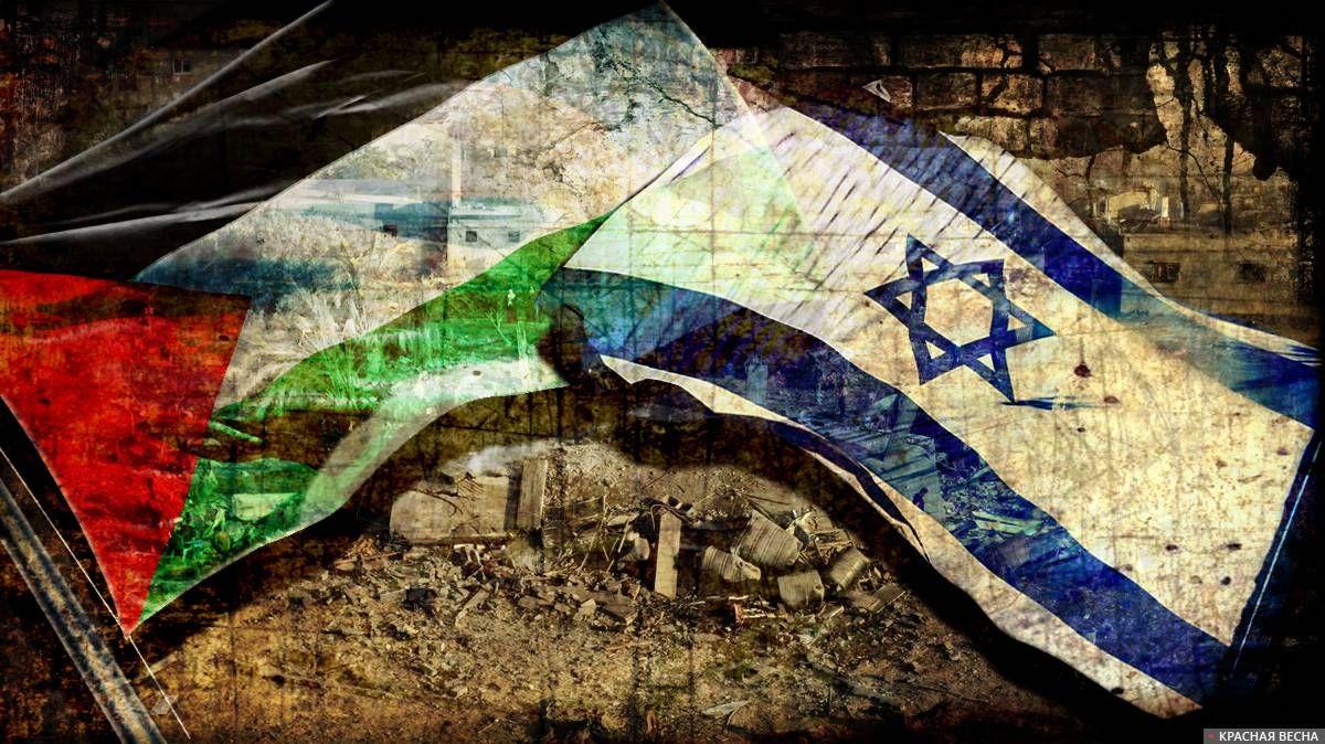 Два палестинца убиты при бомбардировке Израилем сектора Газа