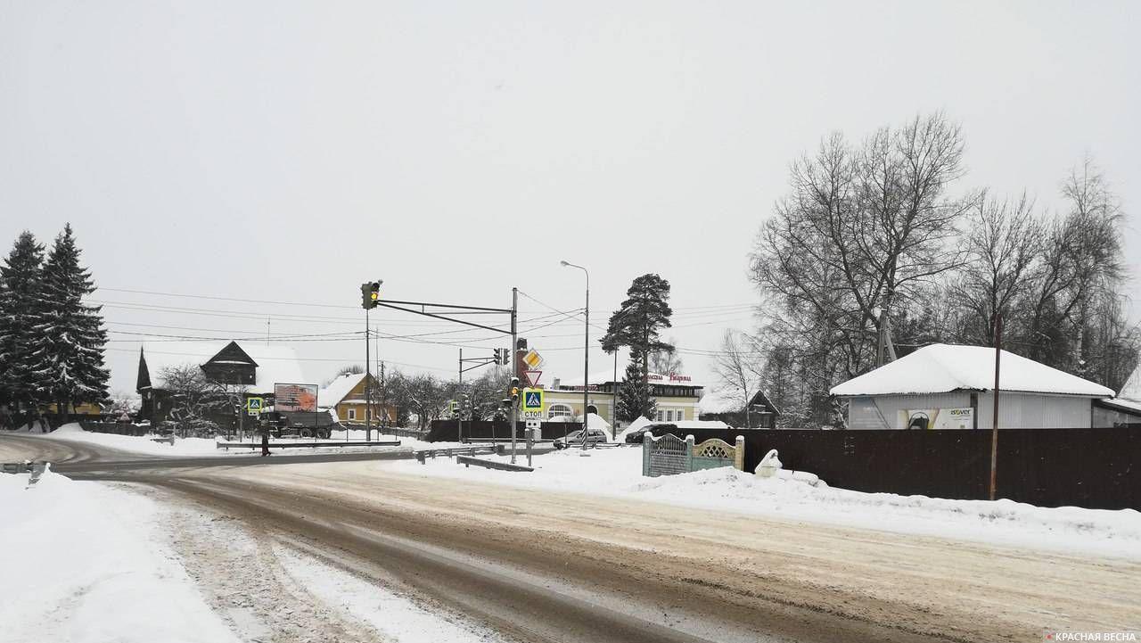 Перекресток Киевского шоссе и дороги 41А-003