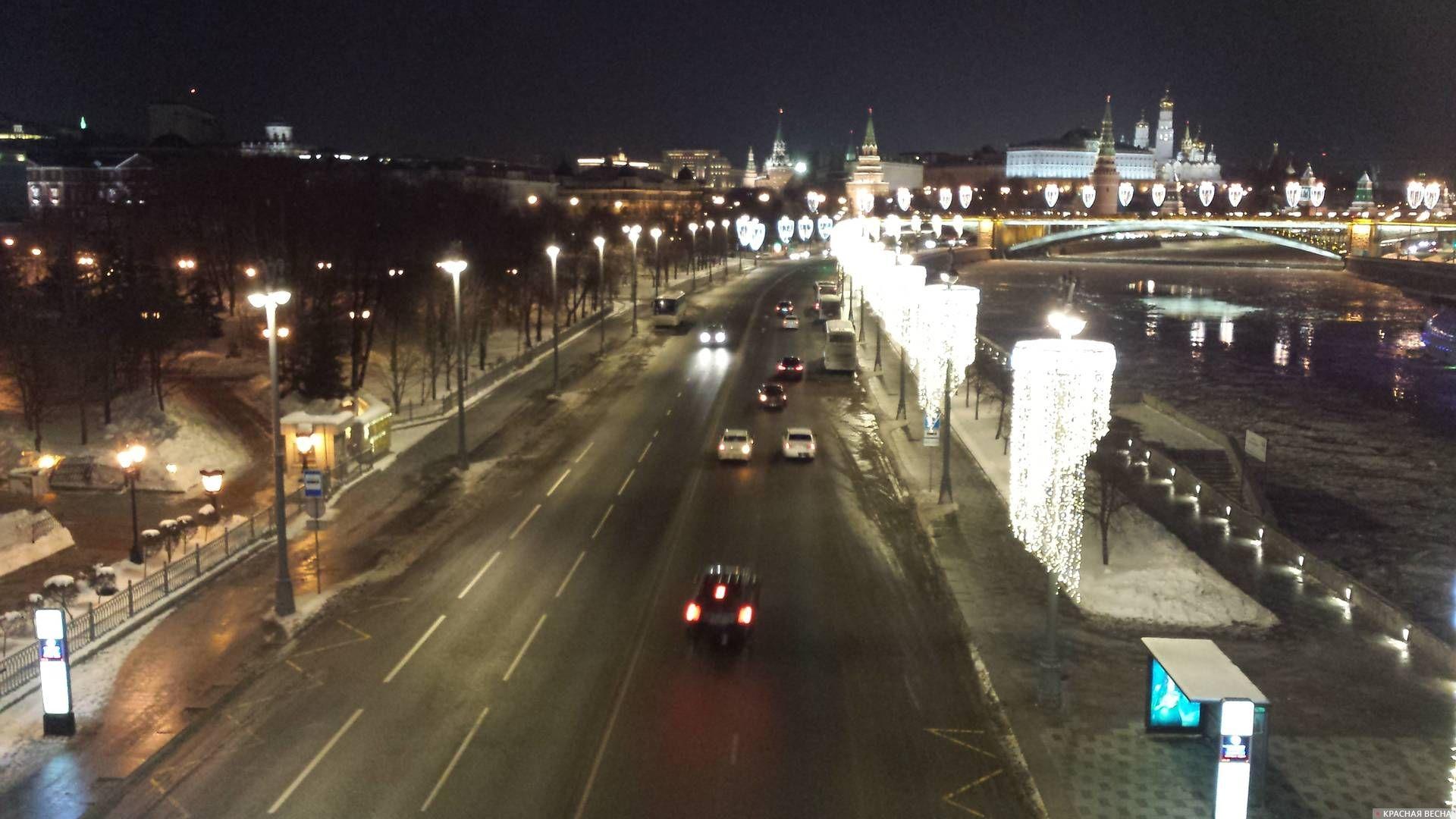 Москва. Пречистенская набережная © ИА Красная Весна