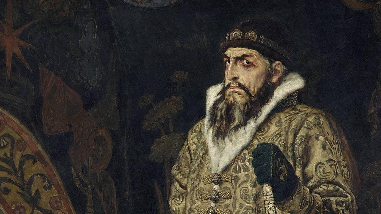 Фрагмент картины «Царь Иван Васильевич Грозный»