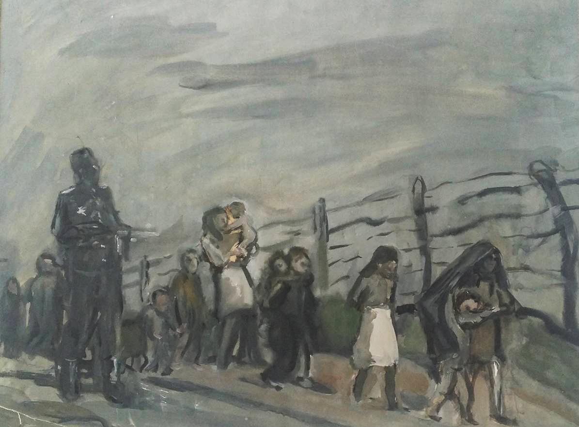 Меер Аксельрод. Немецкая оккупация. 1942–1969