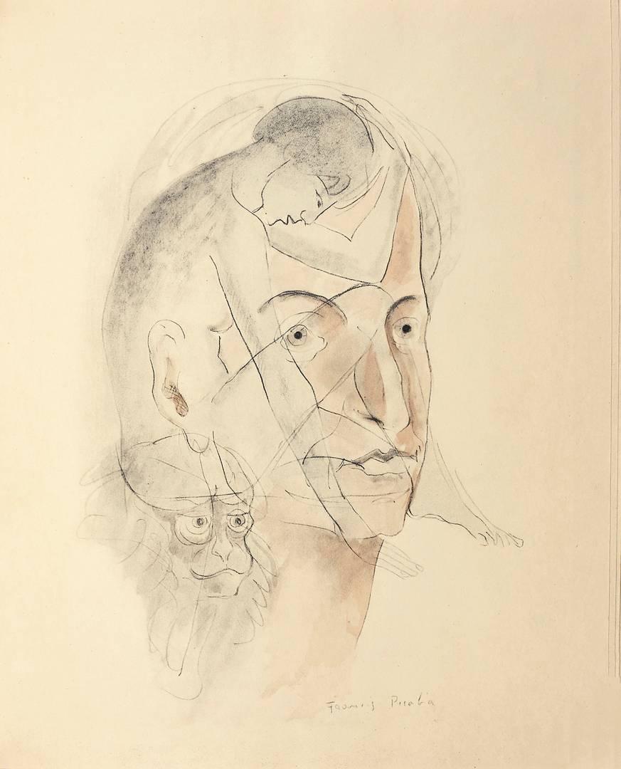 Франсис Пикабиа. Le Peseur d'âmes. 1931