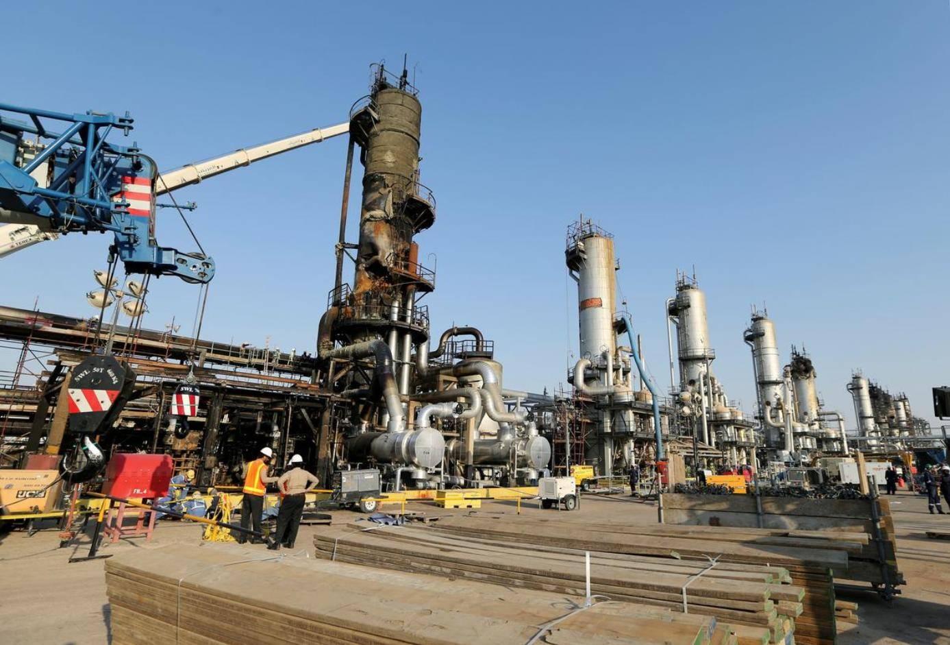 Завод в Абкайке 20 сентября. За 6 дней до «полного восстановления нефтедобычи»