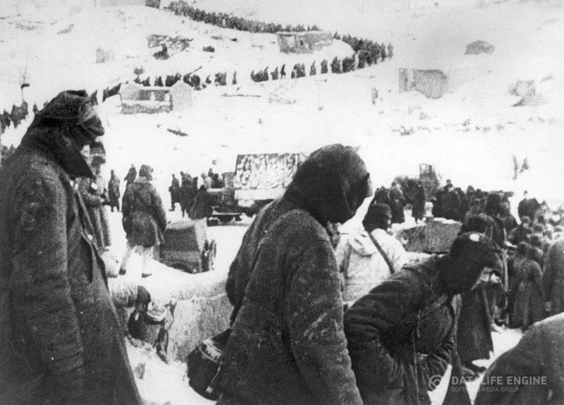 Немецкие пленные солдаты