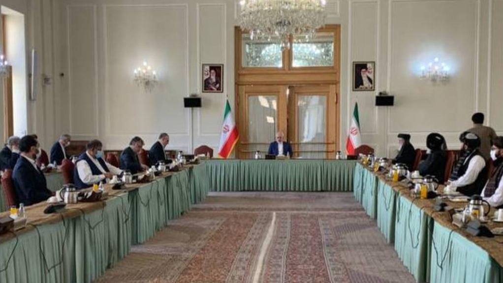 Встреча афганских делегаций в Тегеране