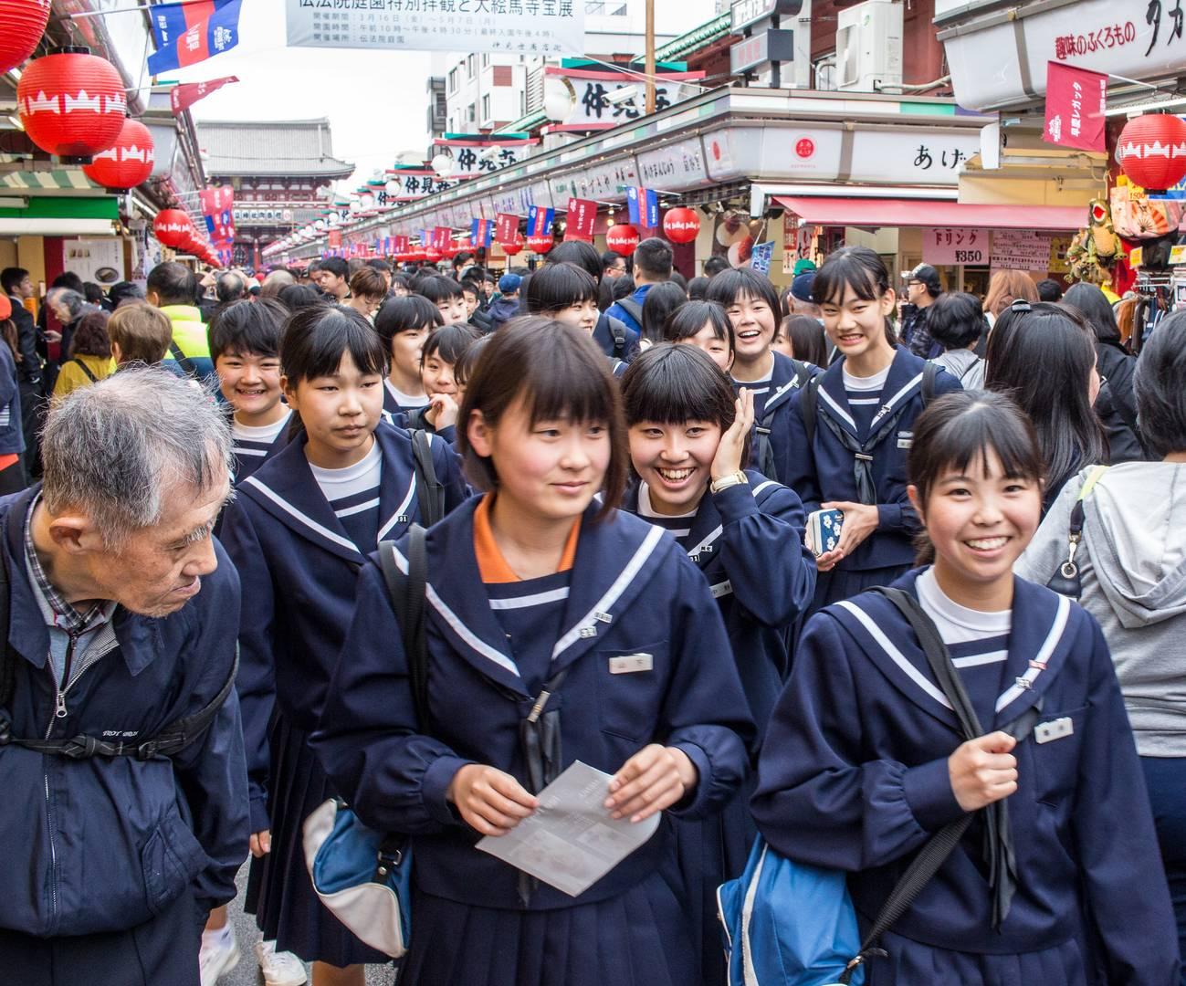 картинки школ в японии