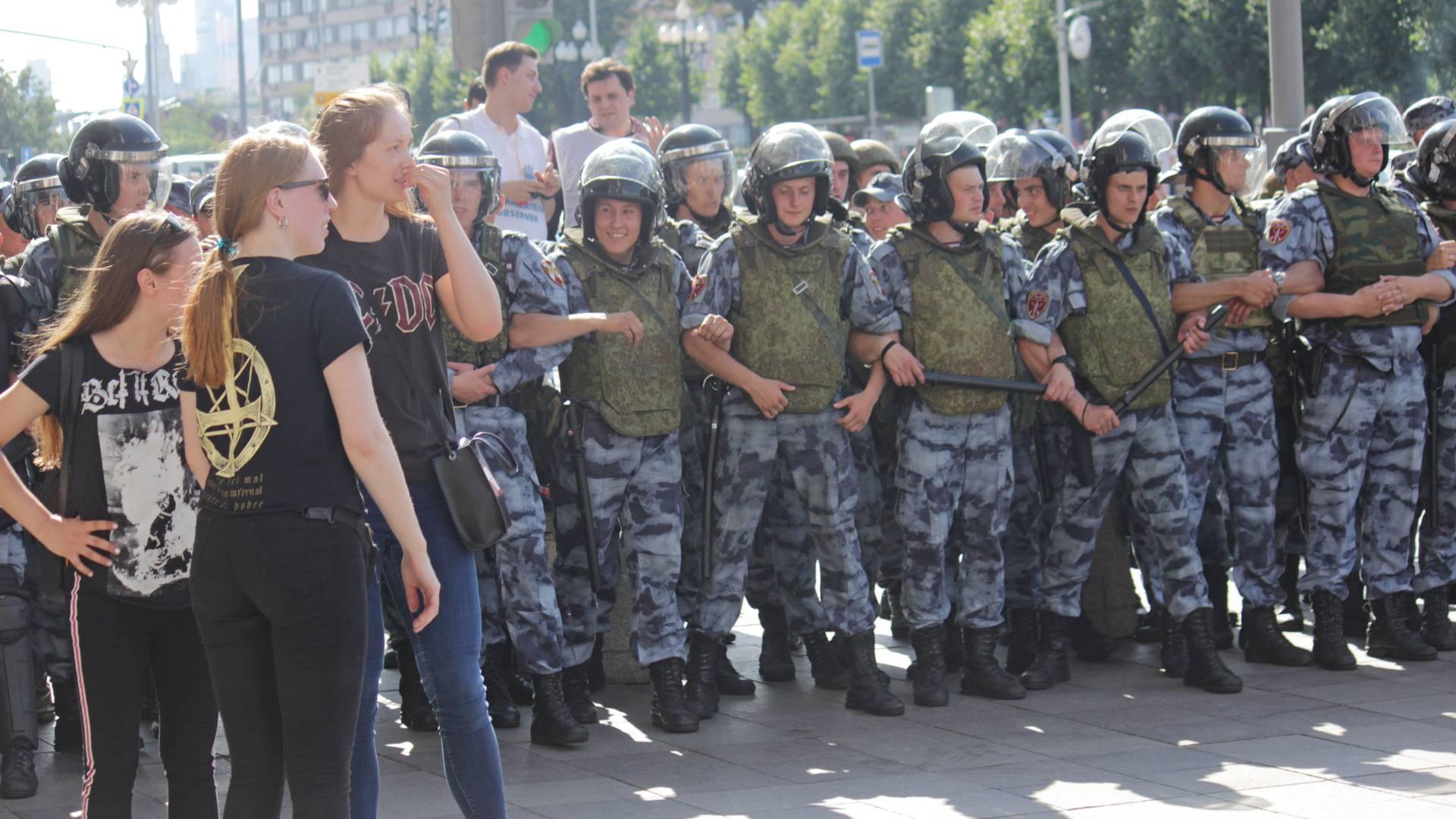 Митинг на Тверской. 27.07.19