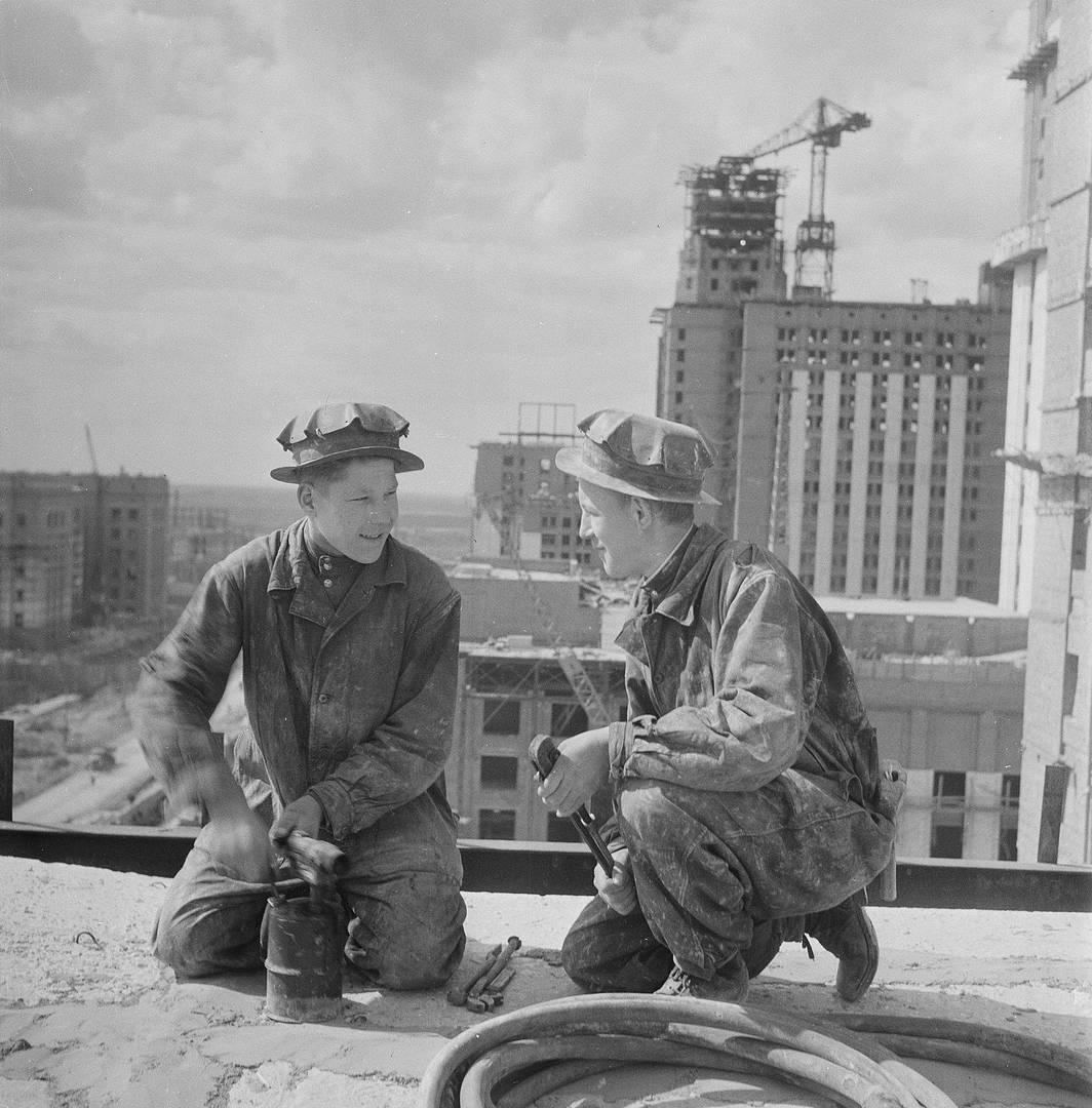 Семён Фридлянд. Строительство МГУ. 1951–1952