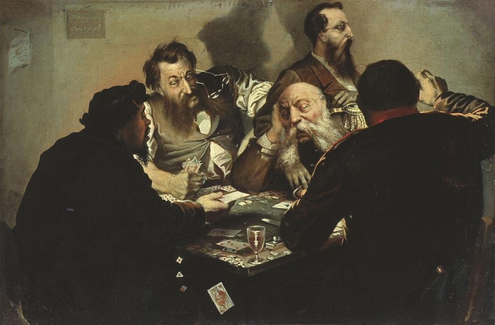 Иван Калганов. Карточные шулера. Конец 1870-х
