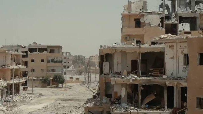 Развалины Ракки