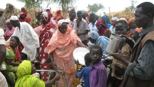 Беженцы в Африке