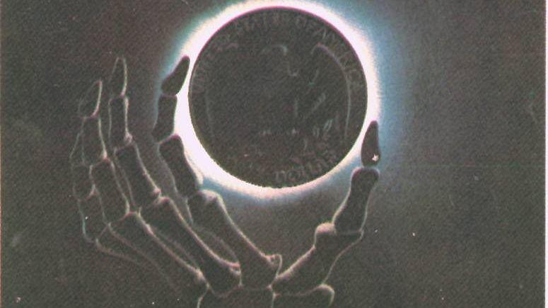 М. В. Лукьянов. Есть вещи поважнее, чем мир… Госсекретарь США Хейг. Советский плакат (фрагмент)