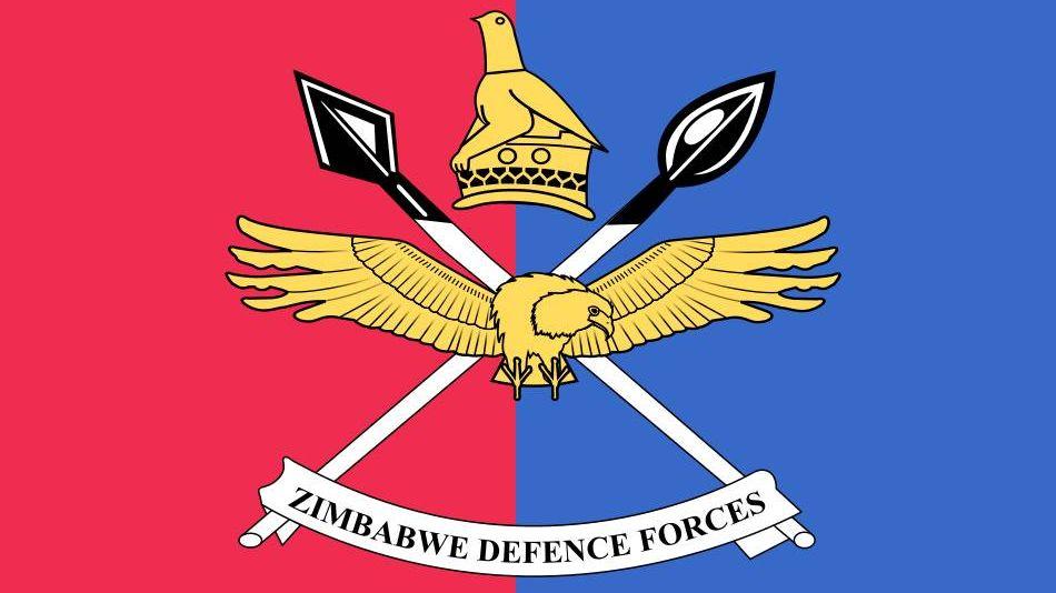 Флаг Вооруженных сил Зимбабве