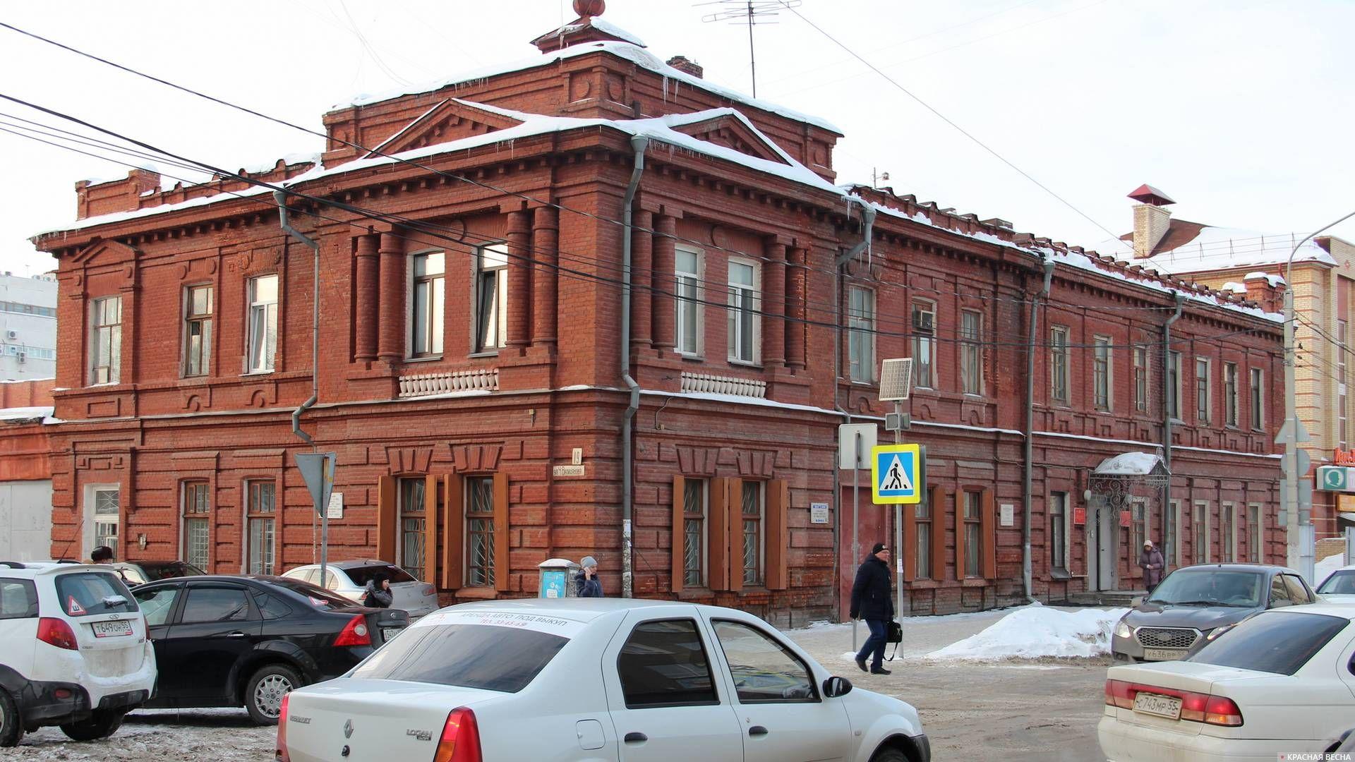 Здание военкомата