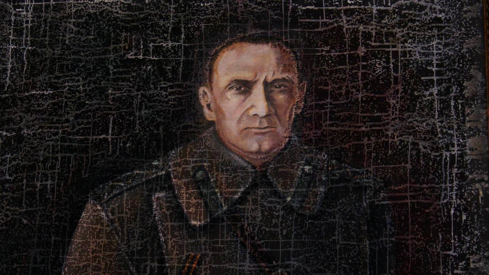 Портрет А.В. Колчака, худ. С. Баранов