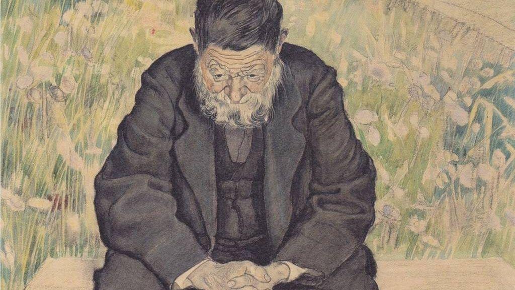 Фердинанд Ходлер. Безработный. 1891