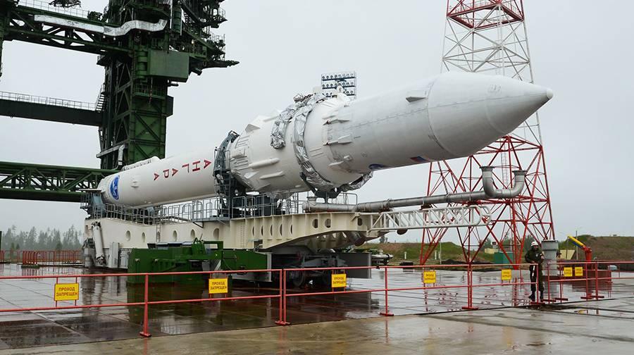 «Ангара-1.2ПП» на космодроме Плесецк