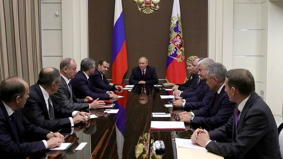 Заседание СБ РФ