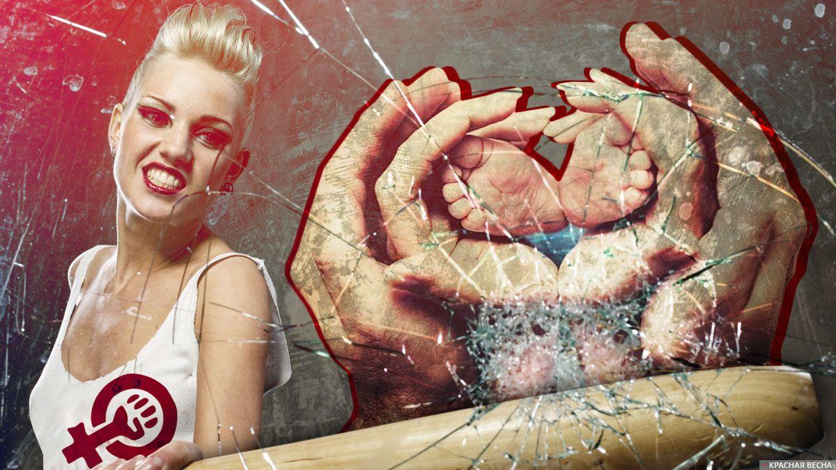 Закон феминисток о домашнем насилии разрушает семью