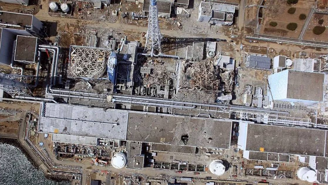 АЭС Фукусима после аварии
