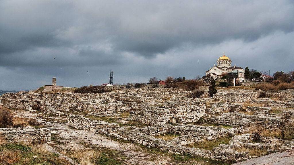 Руины Херсонеса. Крым