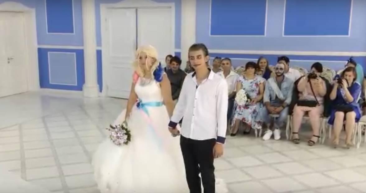Скриншот видео «Обычная свадьба в Новороссийске» пользователя tipich_krd. instagram.com