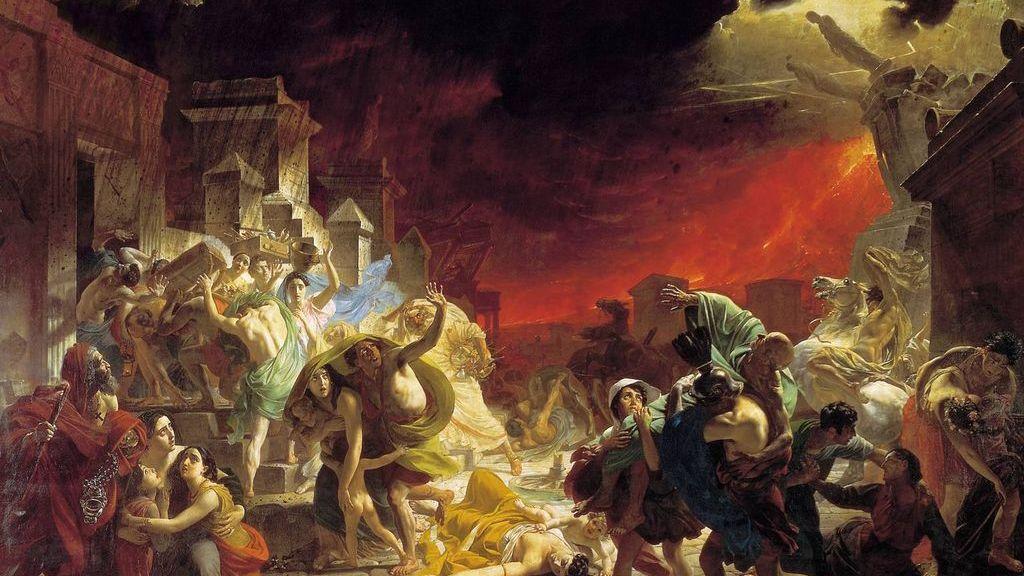 Брюллов Карл. Последний день Помпеи. 1833