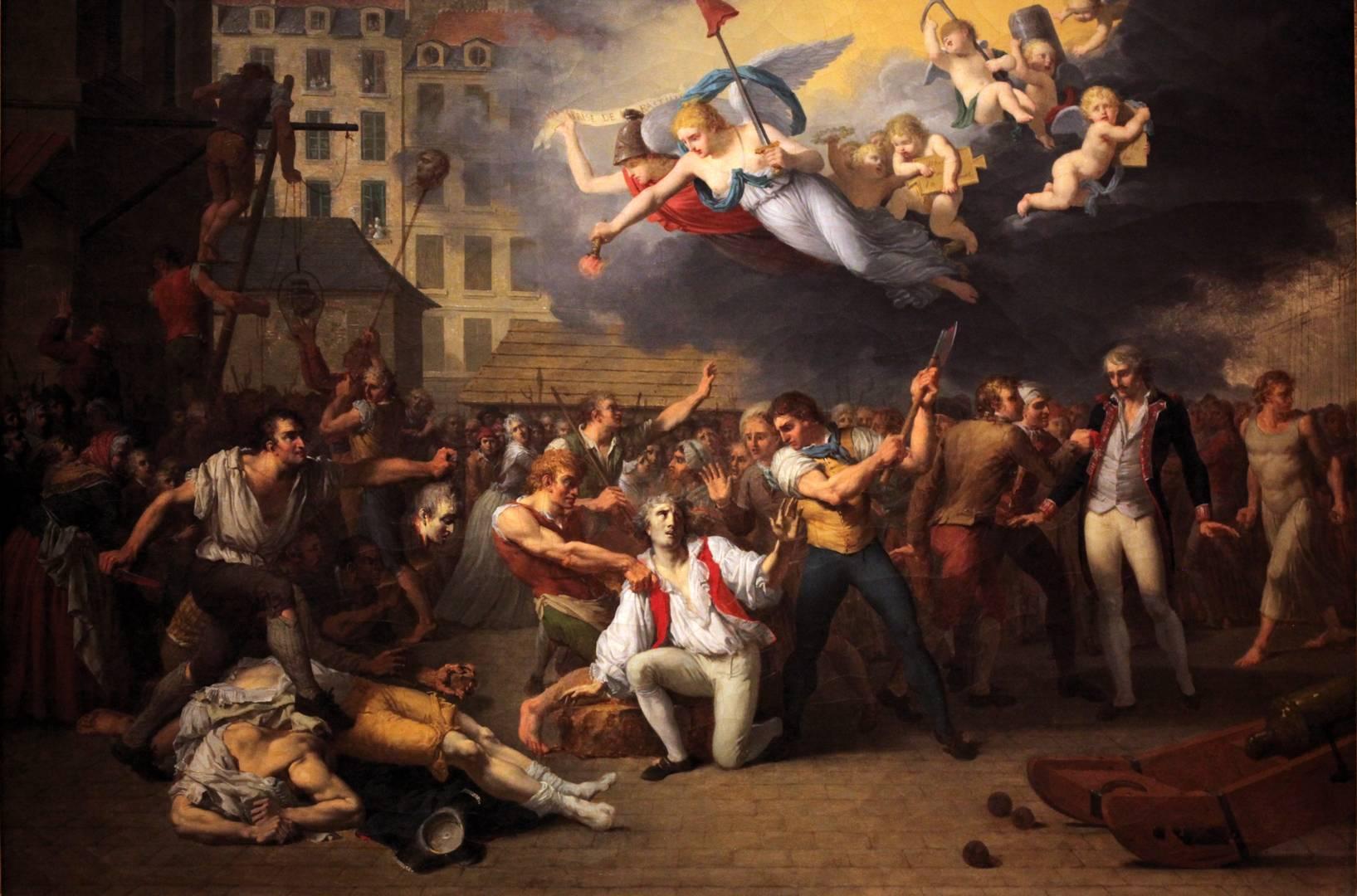 Шарль Поль Ландон. Народная месть после взятия Бастилии. 1793