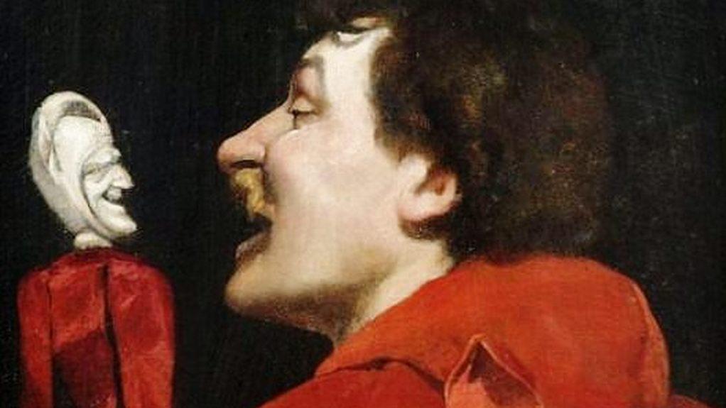 Хосе Фраппа. Шут и его двойник (фрагмент)
