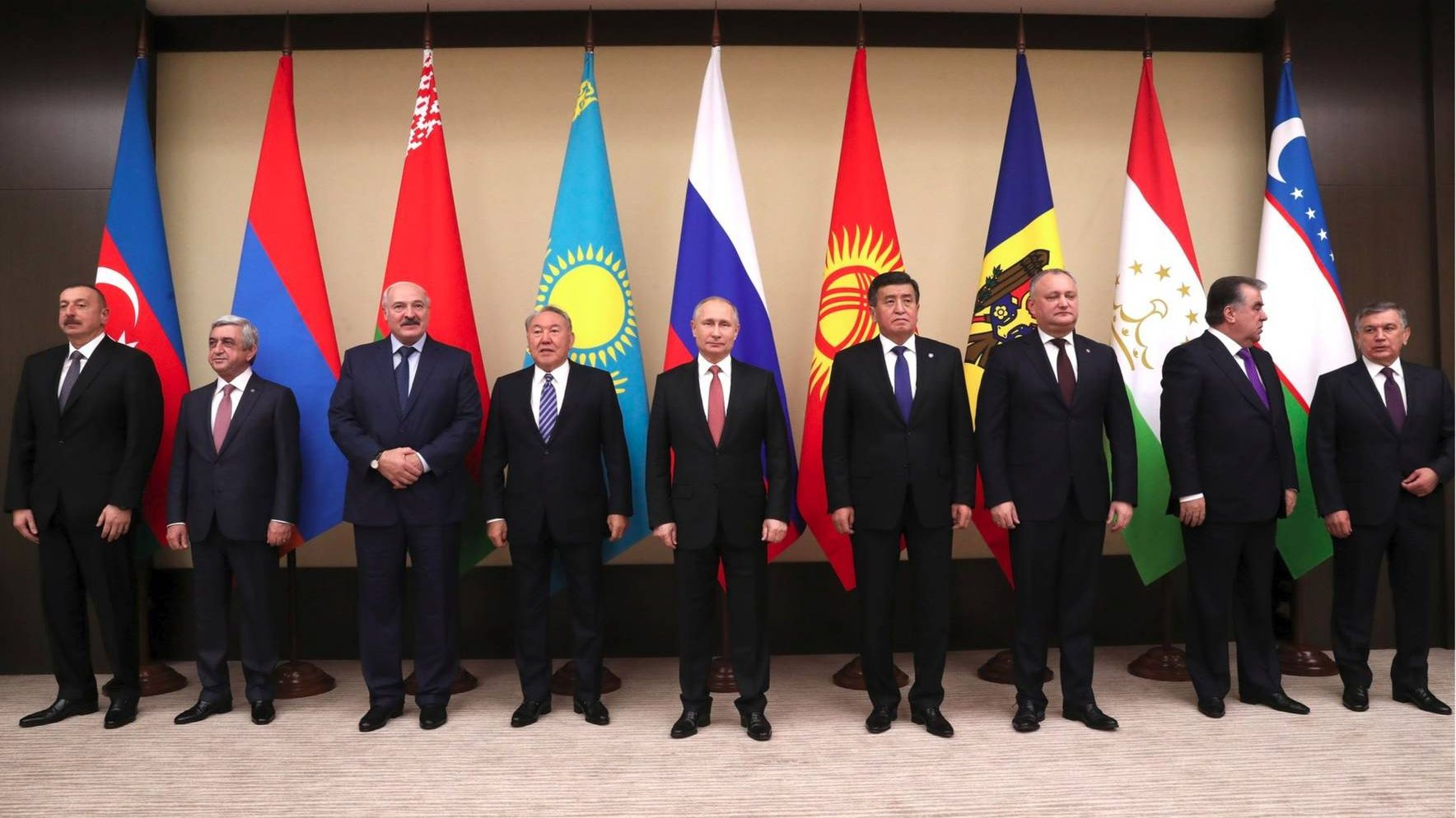 Встреча глав стран СНГ