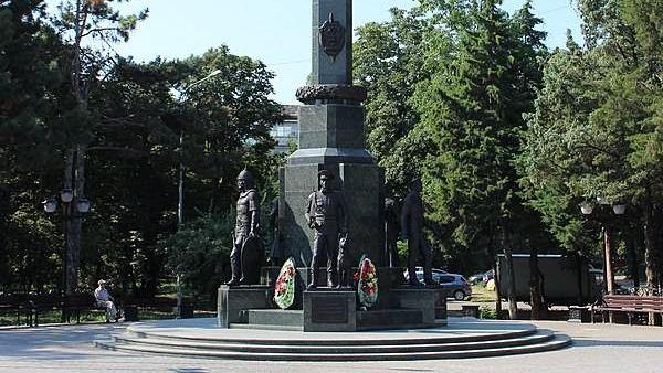 Памятник пограничникам. Краснодар