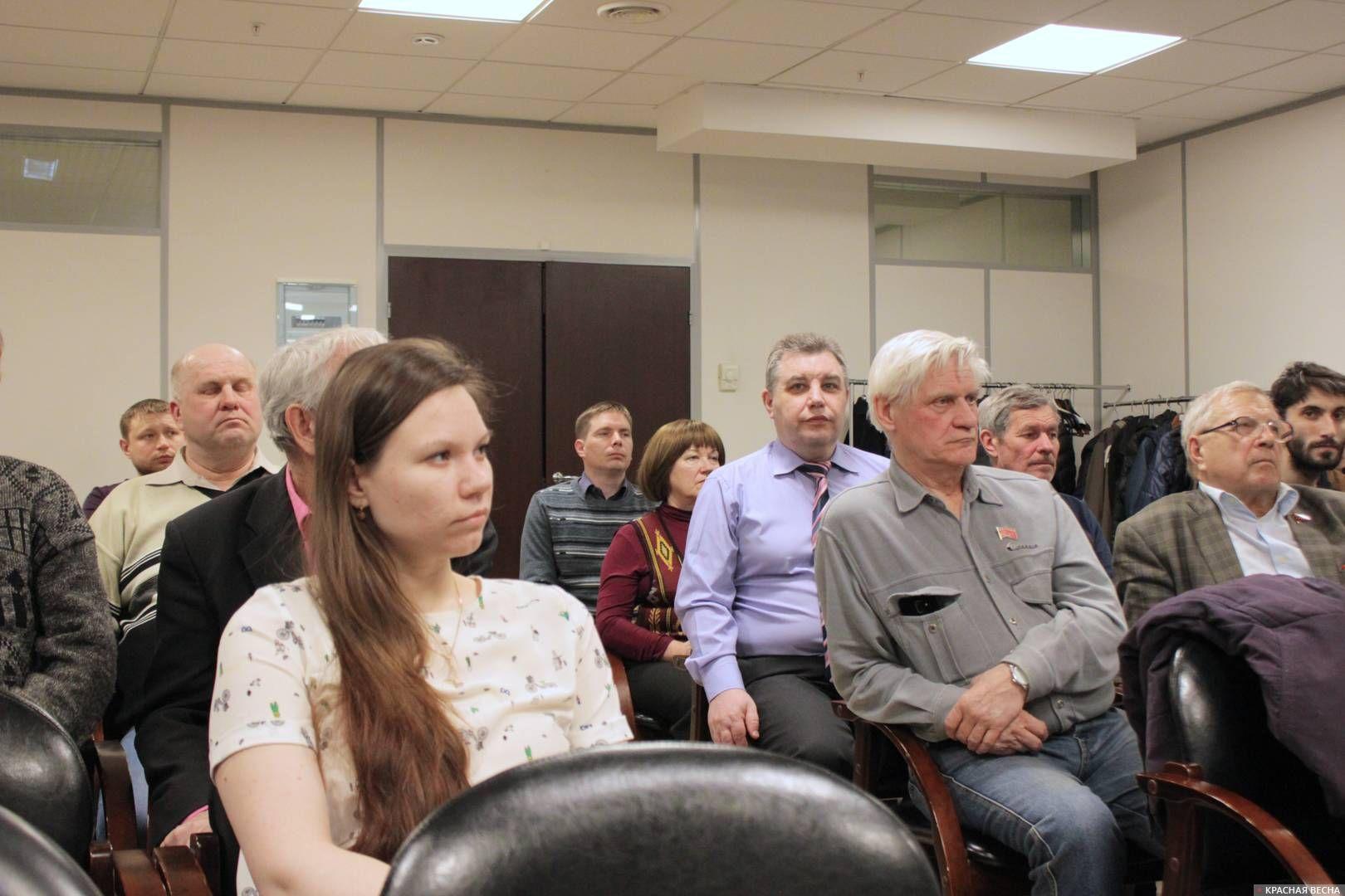 Дискуссионная площадка «Умный вечер». Екатеринбург. 03.04.2019