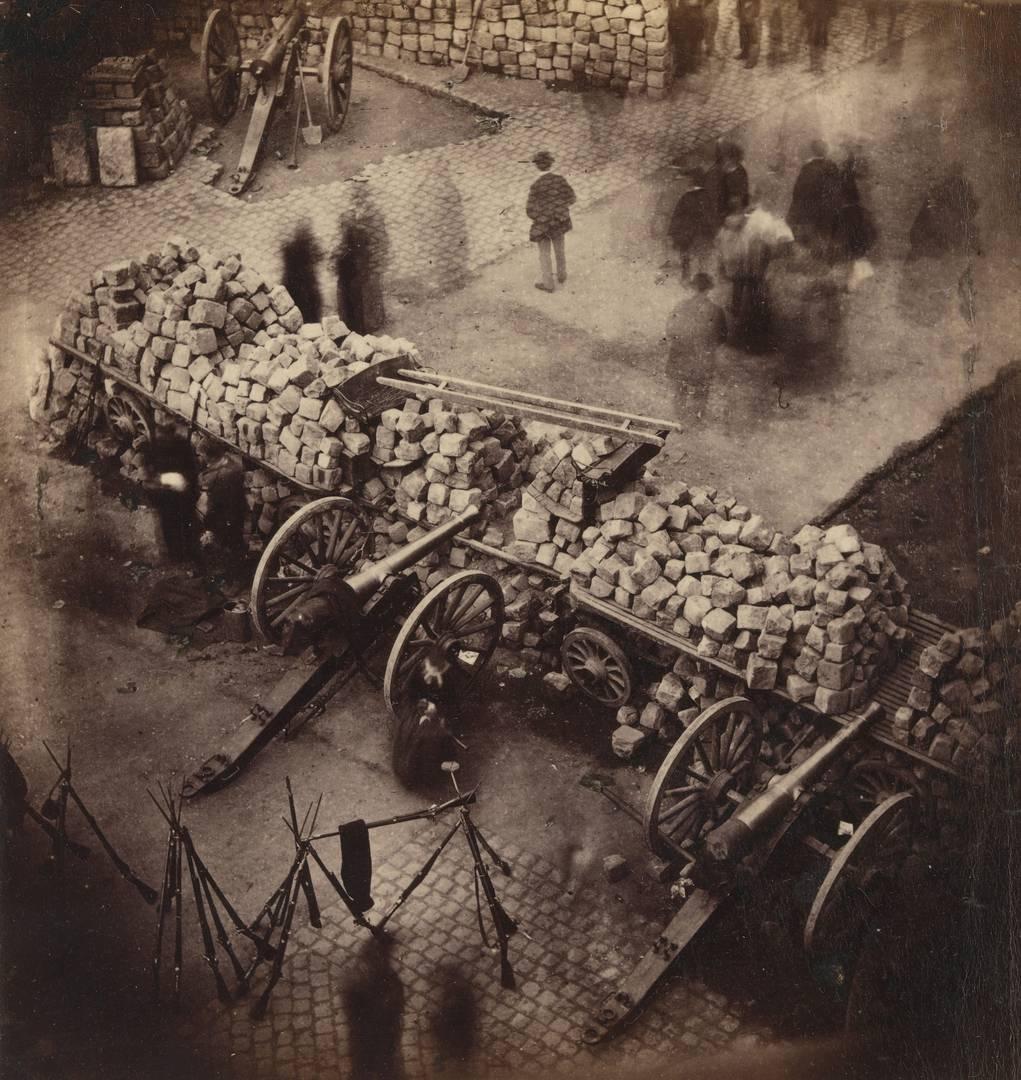 Пьер-Амброз Ричебург. Баррикады Парижской коммуны. Апрель 1871