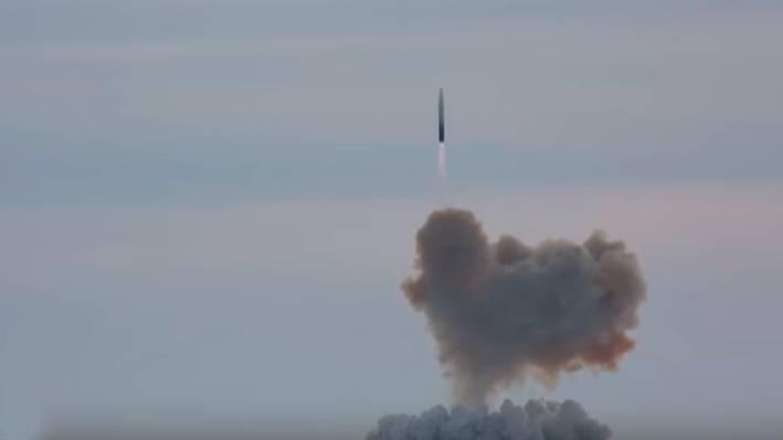 Испытания ракеты