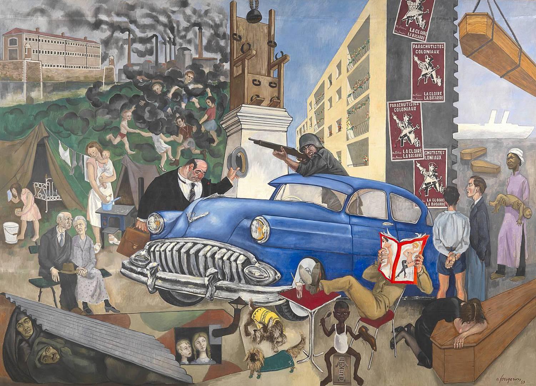 Андре Фужерон. Атлантическая цивилизация. 1953