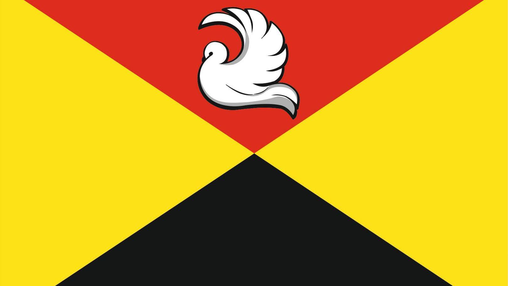 Флаг города Кимовска