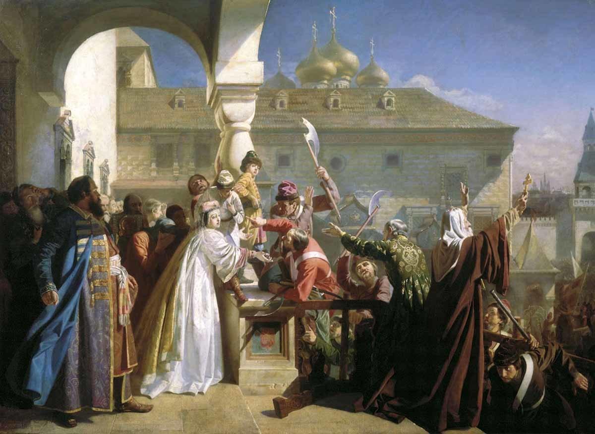 Николай Дмитриевич-Оренбургский. Стрелецкий бунт. 1862