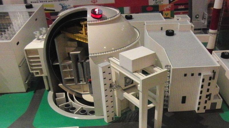 Модель Бушерской АЭС