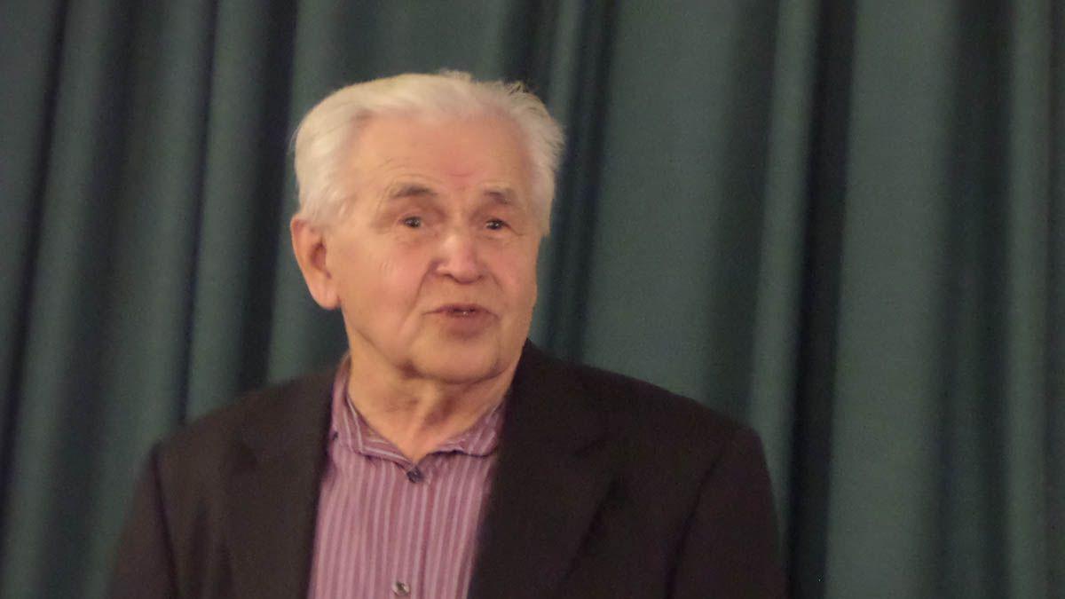 Профессор РХГА Ермичёв Александр Александрович. Санкт-Петербург. 14.12.2017