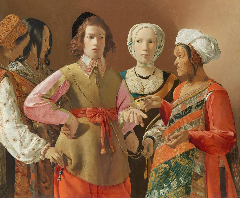 Жорж Дюмениль де Латур. Гадалка. Вероятно 1630-е