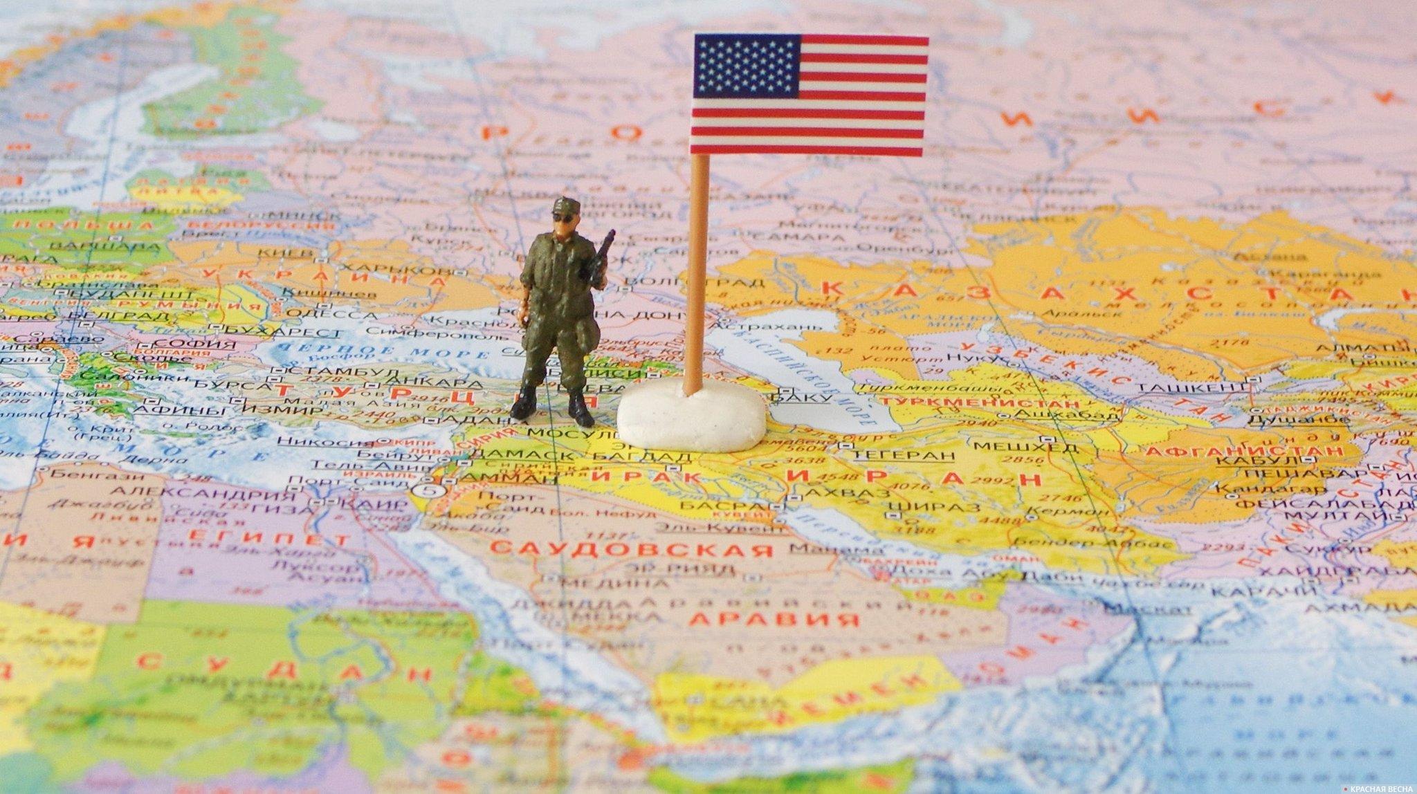 Солдат США. Сирия