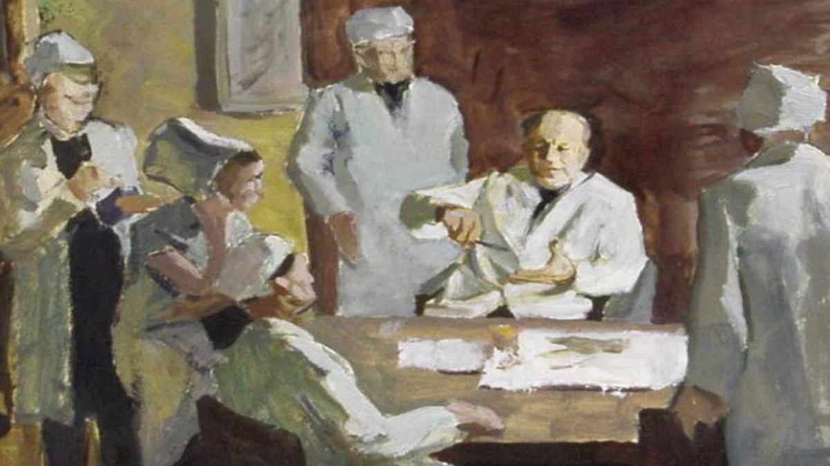 Мефодий Захаревич, Консилиум. 1950-е гг.
