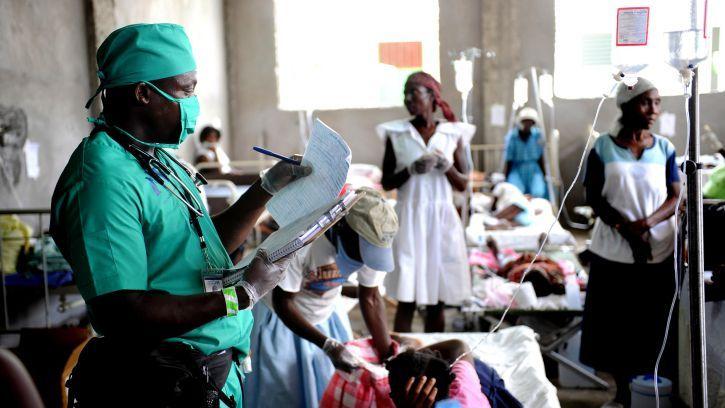 Больница в Африке