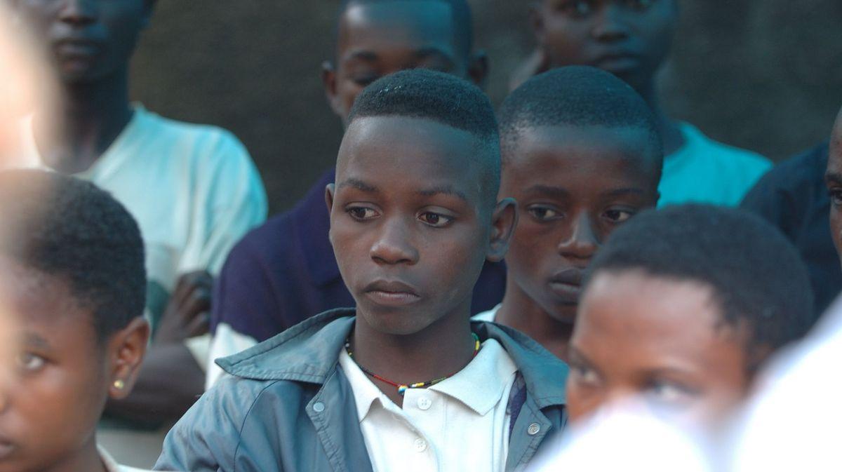 Несовершеннолетние заключенные в тюрьме Буниа в Конго